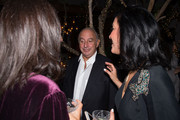 Sir Philip Green and Violet Camacho attend Sir Philip Green Hosts Dinner In Celebration Of Topshop Topman Miami Store Opening at Cecconi's at Soho Beach House on November 18, 2017 in Miami Beach, Florida.