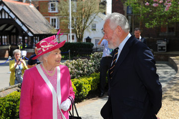 Sir Robin Knox-Johnston The Queen Visits Berkhamsted School