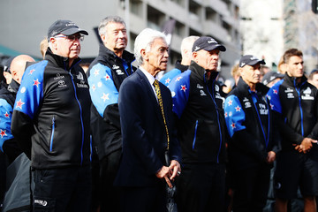 Sir Stephen Tindall Team New Zealand Americas Cup Welcome Home Parade