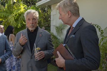 Sir Tom Jones The Prince Of Wales And Duchess Of Cornwall Visit Barbados