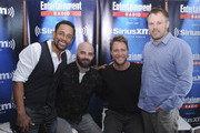 Actor Hill Harper, executive producer producer Craig Sweeny, actor Jake McDorman and director Marc Webb attend SiriusXM's Entertainment Weekly Radio Channel Broadcasts From Comic-Con 2015 at Hard Rock Hotel San Diego on July 9, 2015 in San Diego, California.