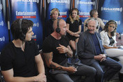 Actors Brandon Routh and Dominic Purcell, executive producer Phil Klemmer and actors Caity Lotz, Victor Garber, Wentworth Miller and Ciara Renee attends SiriusXM's Entertainment Weekly Radio Channel Broadcasts From Comic-Con 2015 at Hard Rock Hotel San Diego on July 11, 2015 in San Diego, California.