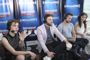 Actors Elise Eberle, Seth Gabel, Shane West and Janet Montgomery attend SiriusXM's Entertainment Weekly Radio Channel Broadcasts From Comic-Con 2015 at Hard Rock Hotel San Diego on July 11, 2015 in San Diego, California.