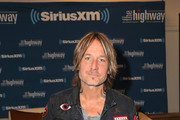 Keith Urban  attends the SiriusXM's The Highway broadcast backstage leading up to the Academy of Country Music Awards at MGM Grand Garden Arena on April 6, 2019 in Las Vegas, Nevada.