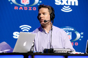 Former NFL player Carson Palmer speaks onstage during day one with SiriusXM at Super Bowl LIV on January 29, 2020 in Miami, Florida.