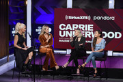 Jenny McCarthy, Carrie Underwood and Maddie and Tae attend SiriusXM's Town Hall With Carrie Underwood Hosted By SiriusXM's Jenny McCarthy At The SiriusXM Studios on September 11, 2019 in Los Angeles, California.