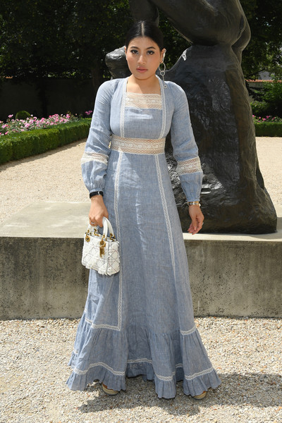 Christian Dior: Photocall - Paris Fashion Week - Haute Couture Fall Winter 2018/2019 [clothing,white,dress,lady,gown,fashion,formal wear,outerwear,wedding dress,bridal party dress,christian dior,sirivannavari nariratana,part,paris,france,christian dior haute couture fall winter 2018,photocall - paris fashion week,show,paris fashion week]