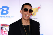 Rapper Daddy Yankee arrives at the sixth annual Fighters Only World Mixed Martial Arts Awards at The Palazzo Las Vegas on February 7, 2014 in Las Vegas, Nevada.