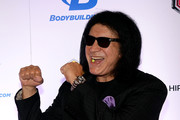 Kiss singer/bassist Gene Simmons arrives at the sixth annual Fighters Only World Mixed Martial Arts Awards at The Palazzo Las Vegas on February 7, 2014 in Las Vegas, Nevada.