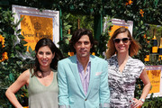 (L-R) Vanessa Kay, Nacho Figueras and Delfina Blaquier attend the sixth annual Veuve Clicquot Polo Classic on June 1, 2013 in Jersey City.