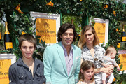 (L-R) Hilario Figueras, Nacho Figueras, Delfina Blaquier, Alba Figueras, Artemio Figueras and Aurora Figueras attend the sixth annual Veuve Clicquot Polo Classic on June 1, 2013 in Jersey City.