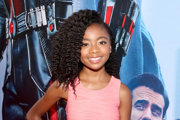 Skai Jackson World Premiere of Marvel's 'Ant-Man' - Red Carpet