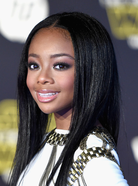 skai jackson photos   premiere star wars the force