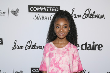 Skai Jackson Marie Claire Celebrates Fifth Annual 'Fresh Faces' in Hollywood With SheaMoisture, Simon G. And Sam Edelman - Arrivals