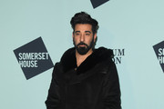 Ray Panthaki attends the VIP launch of Skate at Somerset House on November 13, 2018 in London, England.