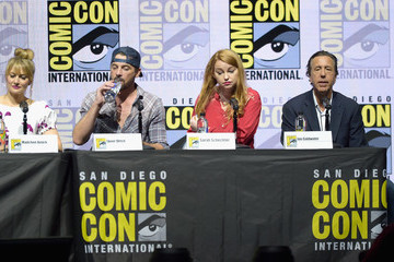 Skeet Ulrich Madchen Amick Comic-Con International 2018 - 'Riverdale' Special Video Presentation And Q&A