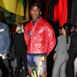 Skepta Launch Of 'Silent Madness' At NOW Gallery, Greenwich Peninsula, By Fashion Designer Mowalola