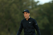 Ross Fisher of England walks along the 13th fairway during Day Two of Sky Sports British Masters at Walton Heath Golf Club on October 12, 2018 in Tadworth, England.