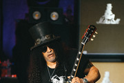 Slash performs at the Ryman Auditorium on August 06, 2019 in Nashville, Tennessee.