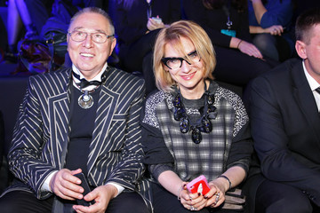 Slava Zaitsev MBFWR: Arrivals and Front Row Views