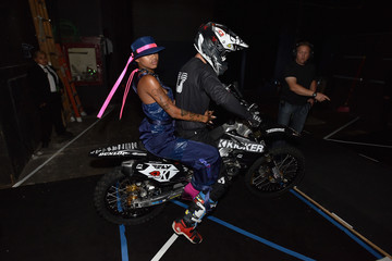Slick Woods FENTY PUMA by Rihanna Spring/Summer 2018 Collection - Backstage + First Looks