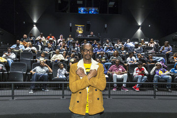 """Snoop Dogg IMAX, Snoop Dogg and Cashmere Agency Host """"Black Panther"""" Screening For Los Angeles-Area Youth"""