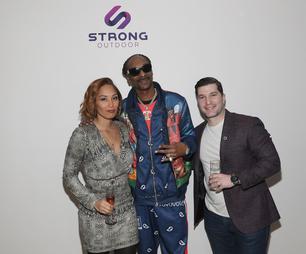 Strong Outdoor Launch Party [blue,red,eyewear,yellow,fashion,event,community,youth,fun,design,karlene mcleod,snoop dogg,new york city,strong outdoor launch party,launch party,snoop dogg,matthew mcconaughey,isla fisher,celebrity,photograph,los angeles,livingly media,studio,2020]