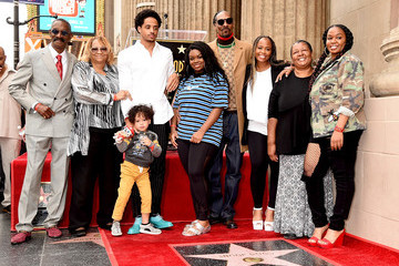Snoop Dogg Shante Broadus Snoop Dogg Honored With Star On The Hollywood Walk Of Fame