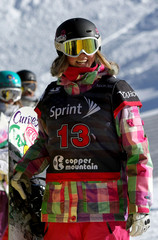 Kate Foster Snowboarding Grand Prix Training