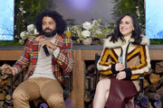 "Daveed Diggs and Lena Hall speak at the ""Snowpiercer"" Panel & Reception at Firewood on January 25, 2020 in Park City, Utah."