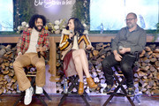 "Daveed Diggs, Lena Hall and Graham Manson speak at the ""Snowpiercer"" Panel & Reception at Firewood on January 25, 2020 in Park City, Utah."