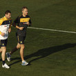 Phil Coles Socceroos Training Session