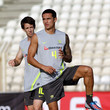 Tim Cahill and Harry Kewell Photos
