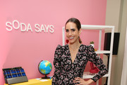 Louise Roe attends Soda Says Celebrates US Launch on November 07, 2018 in Los Angeles, California.