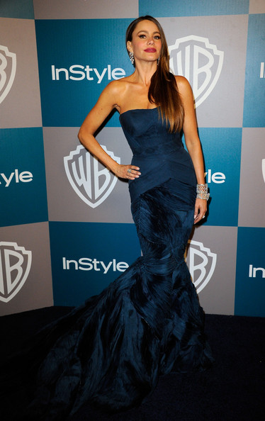 Sofia Vergara Actress Sofia Vergara arrives at 13th Annual Warner Bros. And InStyle Golden Globe Awards After Party at The Beverly Hilton hotel on January 15, 2012 in Beverly Hills, California.