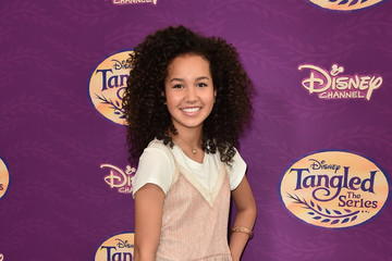 Sofia Wylie Screening of Disney's 'Tangled Before Ever After' - Arrivals