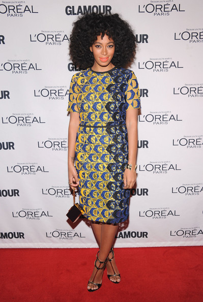 Solange Knowles - 2012 GLAMOUR Women Of The Year Awards