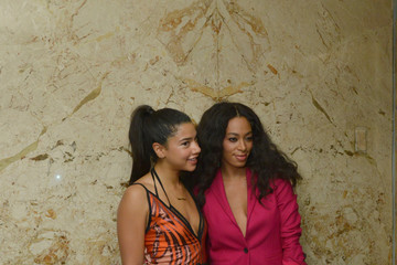 Solange Knowles Gucci Beauty Launch Event Hosted By Frida Giannini