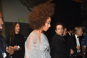 Solange Knowles The 59th GRAMMY Awards -  Backstage