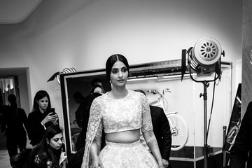 Sonam Kapoor L'Oreal At The 71st Annual Cannes Film Festival