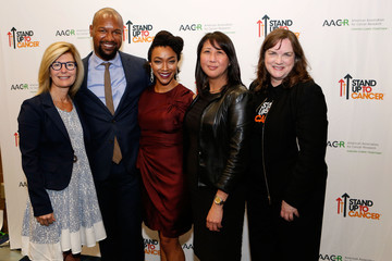 Sonequa Martin-Green Kenric Green Stand Up to Cancer Press Conference at the 2016 AACR Annual Meeting
