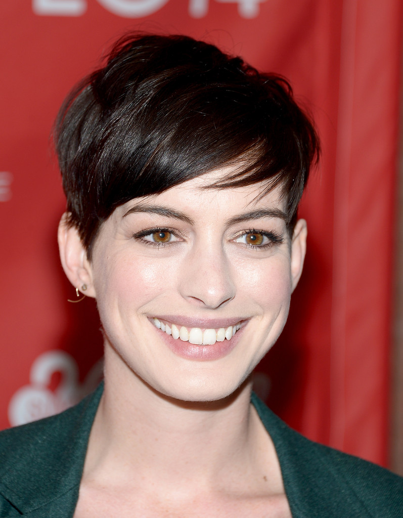 "Actress Anne Hathaway attends the premiere of ""Song One"" at the Eccles Center Theatre during the 2014 Sundance Film Festival on January 20, 2014 in Park City, Utah."