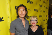 "Producers Kenneth Kao and Sarah Green attend the ""Song To Song"" premiere 2017 SXSW Conference and Festivals at Paramount Theatre on March 10, 2017 in Austin, Texas."