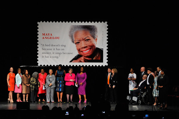 Maya Angelou Forever Stamp Dedication