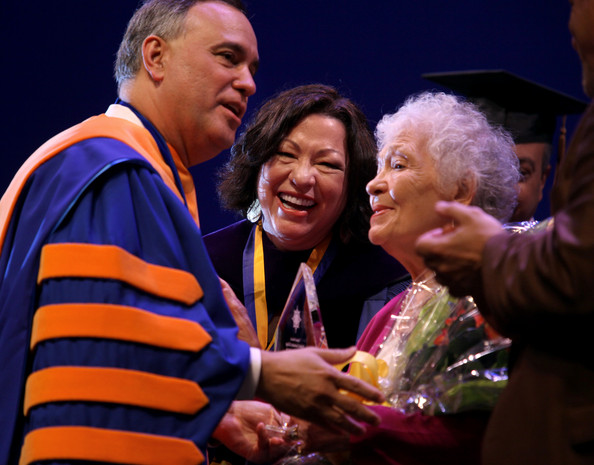 Sotomayor Speaks At New York College Commencement