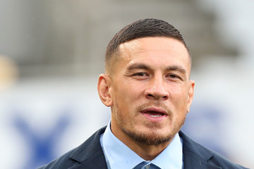 Sonny Bill Williams Super Rugby Rd 2 - Blues v Chiefs