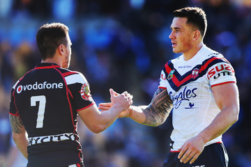 Sonny Bill Williams Warriors v Roosters