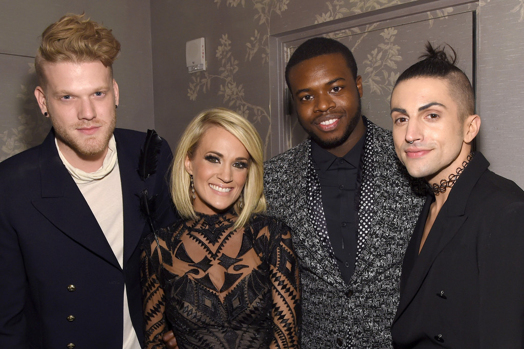 Carrie Underwood and Mitch Grassi Photos Photos - Sony Music