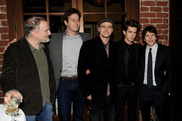 """Justin Timberlake Jesse Eisenberg Sony Pictures Home Entertainment's """"The Social Network"""" Blu-ray & DVD Launch Event - Inside"""
