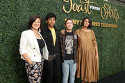(L-R) Mary Rohlich, Nik Dodani, Keir Gilchrist and Robia Rashid attend Sony Pictures Television's Emmy FYC Event 2019 'Toast to the Arts' on May 04, 2019 in Los Angeles, California.